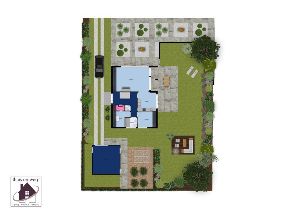 Thuis Ontwerp-woningverkoop-3d-tekening-plattegrond-floorplanner-funda