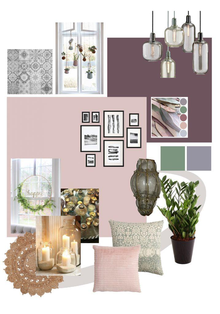 Roze Interieur_romantischestijl woonkamer_warme kleuren woonkamer_inrichten woonkamer