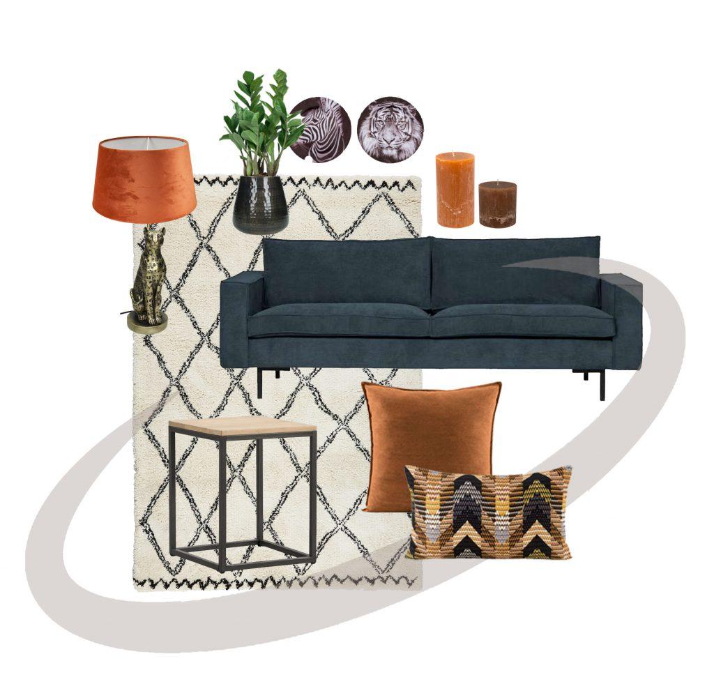 Interieuradvies_ velvet_ modern interieur_Thuis Ontwerp