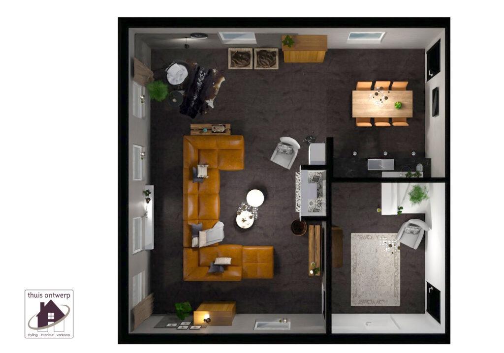 plattegrond huis_plattegrond woning_interieurstylist